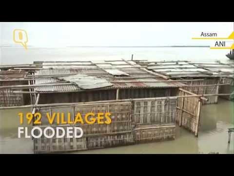 Assam Flood: Brahmaputra Flows Above Danger Mark