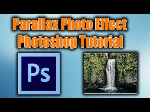 Parallax Photo Effect Photoshop Tutorial   MOVE and COME TO LIFE   HINDI