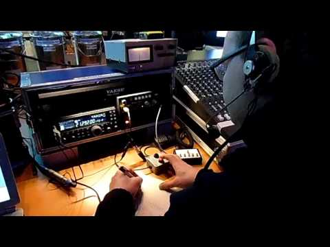 radio amateur short wave HF contest at Dekkershoek the Netherlands