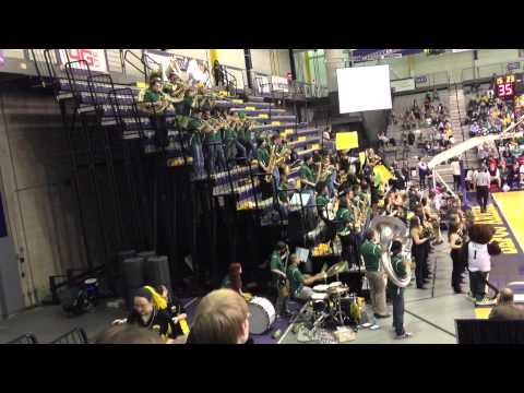 UMBC Pep Band Tournament Albany NY 2012-2013