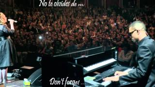 Adele Someone like you HD subtitulado en español e ingles