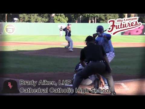 Brady Aiken Prospect Video, LHP, Cathedral Catholic High School @acbaseballgames #mlbdraft - 05/16/2014