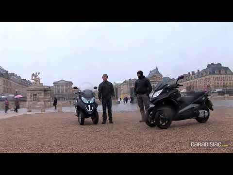 Piaggio MP3 LT 300/Quadro 350D : sérieuse menace pour le MP3