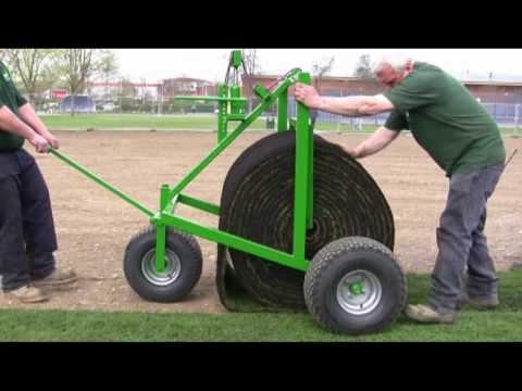 How to lay Big Roll turf