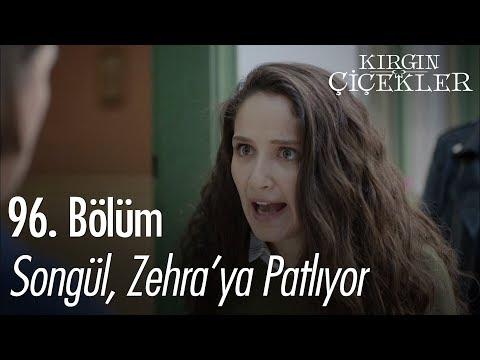 Songül, Zehra'ya ağzının payını veriyor - Kırgın Çiçekler 96. Bölüm