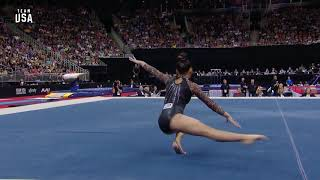 Sunisa Lee On Floor | Champions Series Presented By Xfinity