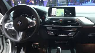 2019 NOVO BMW X3 xDrive 35i M Sport 306 cv    Sao Paulo Motor Show