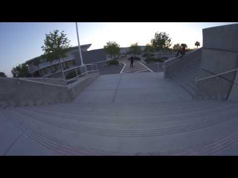 Nollie 360 inward heel to 360 inward heel line - Jeff DeChesare