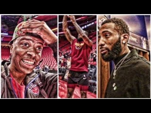 SDC GOES BEHIND THE SCENES OF CAVALIERS VS PISTONS GAME!
