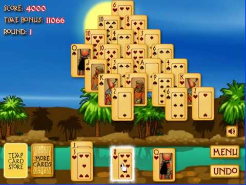 ancient egypt solitaire pyramid