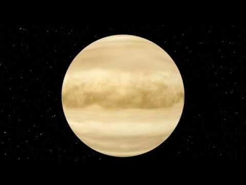 Rotation de la planète Vénus HD