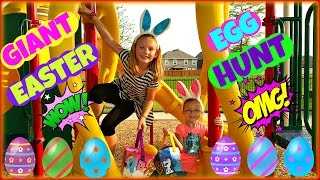 GIANT EASTER EGG HUNT Surprise Toys My Little Pony Shopkins Easter Surprise Eggs Marvel