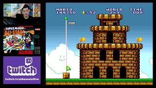 Super Mario Bros (SNES 1993) Live Stream