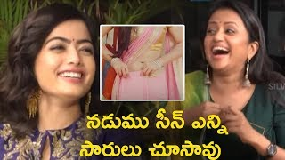 Vijay Devarakonda About Saree Adjusting In Inkem Inkem Kaavaale Song