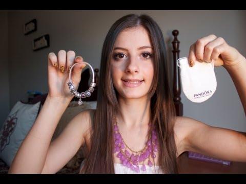 whats on my pandora charm bracelet youtube