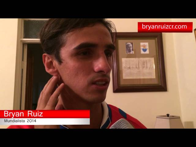 Homenaje para Bryan Ruiz en Alajuelita