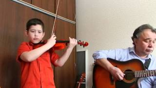 Что за Дитя на гитаре и скрипке Greensleeves What Child Is This - Violin and Guitar Cover