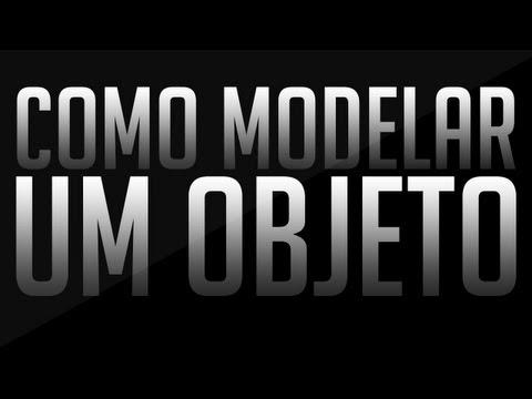 Tutorial #4 // Como Modelar um Objeto // Cinema 4D
