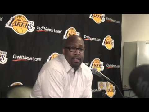 Lakers Coach Mike Brown on benching Kobe Bryant