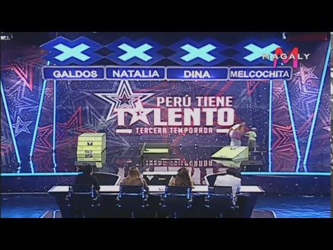 Gonzales Morales - Skate - Audiciones Semana 5 - Perú Tiene Talento
