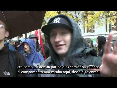 David Icke sincroniza con Luke Rudkowski en el movimiento de ocupación en Wall Street (2011)