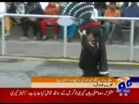 Wagha Border Abdullah Amazing Prade video