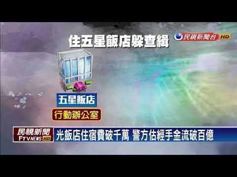 選前全台掃蕩非法金流 逮72人查扣5億-民視新聞