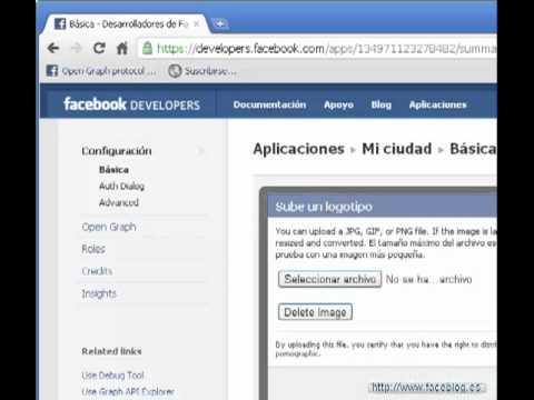 Cómo instalar una aplicación en Facebook