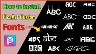 Picsart New Stylish Fonts Add,600+ New Fonts 2019,New Fonts Kese Add Kare