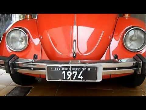 Fusca Vermelho 1500 - 1974