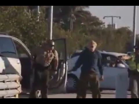 Shock Video  Police Tase Elderly Man With His Hands Up