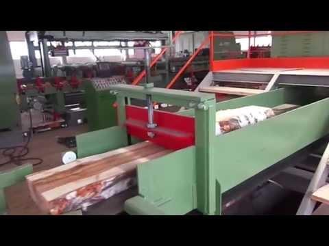 Пробный запуск линии палетной заготовки