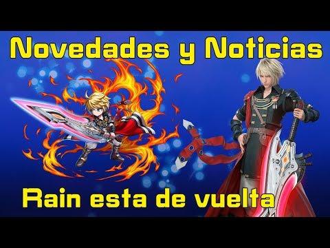 Final fantasy brave exvius:Novedades y Noticias / Rain esta de vuelta y se trae a su amigui ¬¬