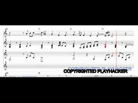 I Believe By [絢香] Ayaka - Sheet Music - MIDI (Piano/String) - 16:9 HD - LYRICS (Japanese/Engish)
