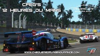 Rfactor2 - CFEG's 12 Heures Du Mans