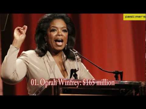 The World's Top 10 Forbes' Highest Paid Celebrities