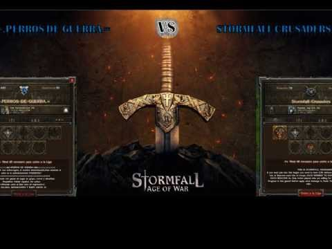 Stormfall Age of Wars =.PERROS DE GUERRA.= Modo defensa