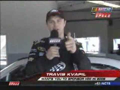 Travis Kvapil Preseason Thunder 2008 Video