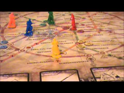Metro 2033 Boardgame Review