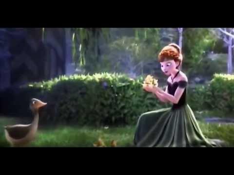 For the First Time in Forever Frozen movie scene - YouTube