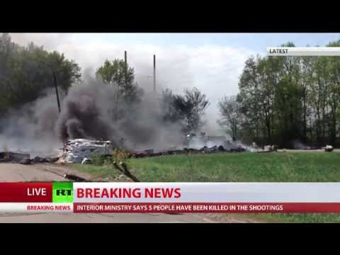 Ukraine army tanks, APCs deployed in #Slavyansk as Kiev 'anti-terror op' underway