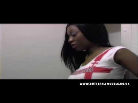 Butterflymodels - Mizz Kayzee in Wyn's Soccer Shoot