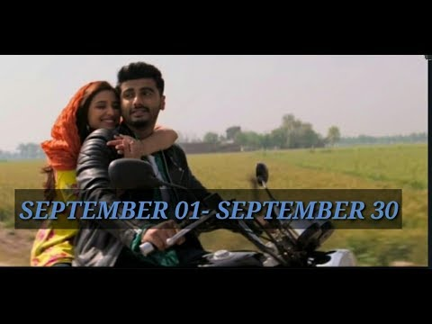 Top 20 Hindi Songs of the September 01- September 30 2018|Bollywood Top 20 Sept. Month Songs
