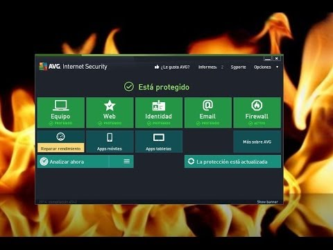 Como Descargar e Instalar el Antivirus  AVG Internet Security Full 2014