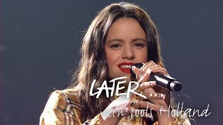 Rosalía performs her smash hit Malamente on Later... with Jools Holland