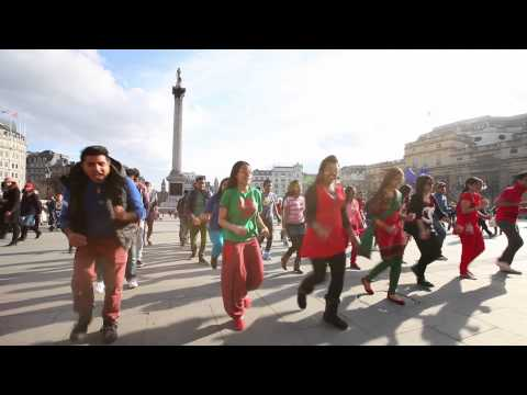 ICC World T20 Flash Mob, London 2014 (Bangla Tigers London)