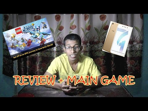 Review Oppo A71 + Main Game Lego Q&C MP3