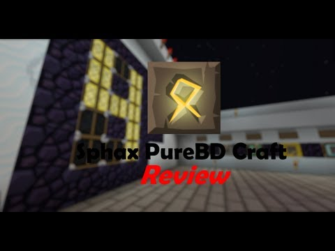 Minecraft Texture Pack Review: Sphax PureBDcraft - Updated to 1.8!