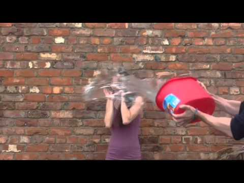 Claire Cooper does the ALS Ice Bucket Challenge!
