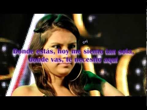 GOTAS FRIAS (LETRA) - CORAZON SERRANO